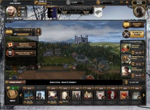 Screenshot vom Browserspiel Game of Thrones: Ascent